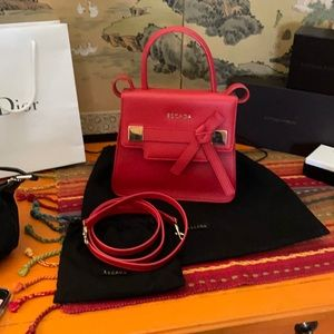 Escada Red cute sling bag Authentic with dust bag